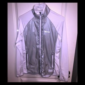 Marmot lightweight jacket reflective med mint cond